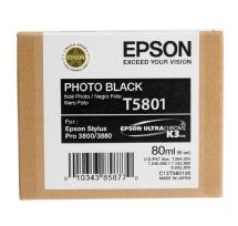 Epson UltraChrome K3 Photo Black Ink Cartridge (80 ml)(T580100)