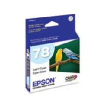Epson 78 Light Cyan Claria Hi-Definition Ink Cartridge