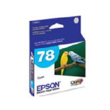 Epson 78 Cyan Claria Hi-Definition Ink Cartridge