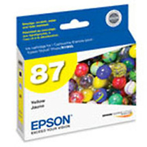 Epson 87 Yellow UltraChrome Hi-Gloss Ink Cartridge