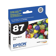 Epson 87 Photo Black UltraChrome Hi-Gloss Ink Cartridge