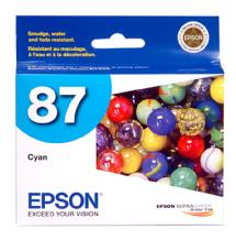 Epson 87 Cyan UltraChrome Hi-Gloss Ink Cartridge