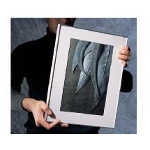 Framatic 12 x 18 Fineline Black Aluminum Frame (4 Pack)