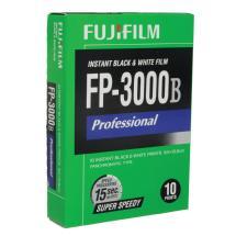 Fujifilm FP-3000B Super Speedy B&W Instant Film 3.25 x 4.25