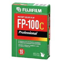 Fujifilm FP-100C Color Instant Film 3.25 x 4.25