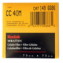 3x3 inch (75mm) CC40M Color Compensation Wratten Gel Filter