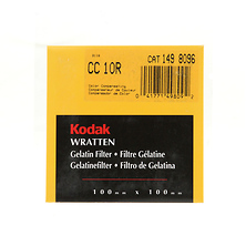 100mm CC10R Red Color Compensating Wratten Gel Filter Image 0