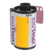 Kodak TMX T-MAX 100 B&W Negative Film, 35mm, 36 Exposures, Single Roll
