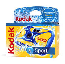 Kodak Water & Sport Waterproof (50'/15 m) 35mm Disposable Camera