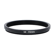 58mm-55mm Step Down Ring Image 0