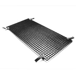 Eggcrate Louver for 4' 4-Bank Fixture - Black Image 0