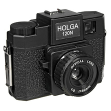 120N Medium Format Fixed Focus Camera with Lens Image 0