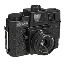 Holga 120 CFN Plastic Medium Format Camera with Built-in color flash