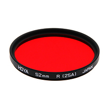 52mm Red 25A Filter Image 0