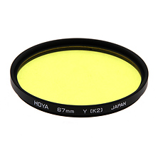 67mm Yellow K2 Filter Image 0
