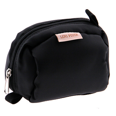Small Lens Pouch - Black Image 0