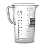 Polypropylene Graduate Beaker - 16oz (500ml)