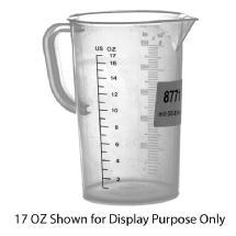 Hama Polypropylene Graduate Beaker - 34 oz (1 Liter)