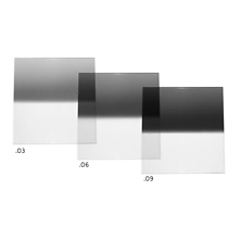 4x6 in. (100x150mm) Reverse Neutral Density Graduated 0.9 Filter Image 0
