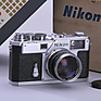 S3 Rangefinder Film Camera with 50mm f/1.4 S.C - Used Thumbnail 0