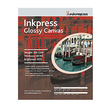 Inkpress Media Glossy Canvas - 17x22in. (C) (10 Sheets)