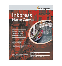 Inkpress Media Matte Canvas - 11 x 17in. (Super-B) - 10 Sheets