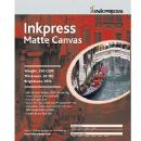 Inkpress | Super-B Matte Canvas Letter 8.5 x 11 In. 10 Sheets | ACW851110
