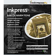 Inkpress Baryta Warm Paper 290gsm 16 x 20 in. (25 Sheets)