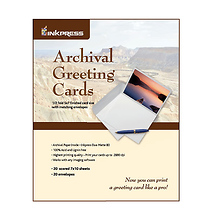 Archival Greeting Cards Pack (20 5x7in. Cards & Envelopes) Image 0