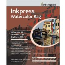 Inkpress Watercolor Rag Paper 13 x 19 In. 25 Sheet