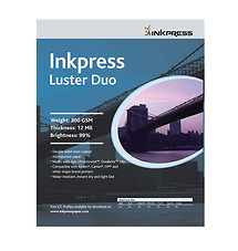 Inkpress Photo Chrome RC Luster Duo Paper (4 x 6in., 20 Sheets)