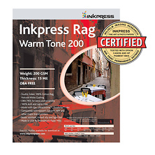 Picture Rag Warm Tone Paper 200 gsm 4 x 6in. - 50 Sheets Image 0