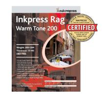 Inkpress Picture Rag Warm Tone Paper 200 gsm 4 x 6in. - 50 Sheets
