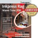 Inkpress | Rag Warm Tone Picture Paper (5x7, 50 Sheets) | PRWT2005750