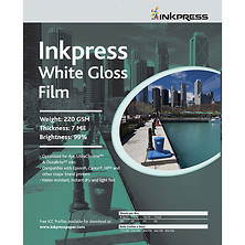 White Gloss Film (8.5x11, 20 Sheets) Image 0