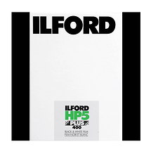 Ilford HP5 400 Plus B&W Negative Film 4x5, 100 Sheet Box