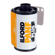 Ilford Pan F Plus 135-36 Black & White Negative Film (ISO-50)