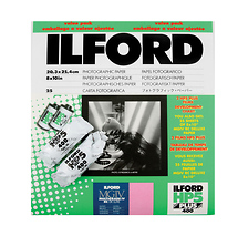 Ilford 8 x 10in. Multigrade IV B&W RC Glossy Paper (25 Sheets) w/2 Rolls of Film