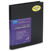 Itoya 4 x 6 in. Art Profolio Advantage Presentation/Display Book - Black