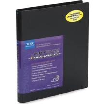Itoya 5 x 7 in. Art Profolio Advantage Presentation/Display Book - Black