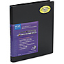 8.5 x 11 in. Art Profolio Advantage Presentation/Display Book - Black
