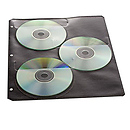 Art Profolio Digital Disc Storage Sheets (4 Sleeves)
