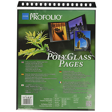 PolyGlass Pages Refill Horizontal Sheets 8.5 x 11 in. 10 Pcs Per Pack Image 0