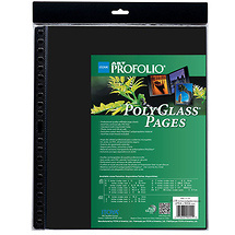 Itoya PolyGlass Pages Refill Sheets 14 x 17 in. 10 Pcs Per Pack