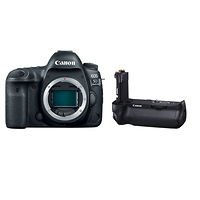 Deals on Canon EOS 5D Mark IV Digital SLR Camera Body w/Battery Grip