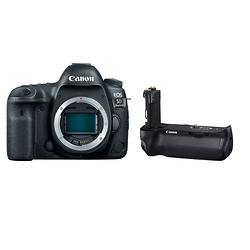 Canon EOS 5D Mark IV Digital SLR Camera Body with BG-E20 Battery Grip Image