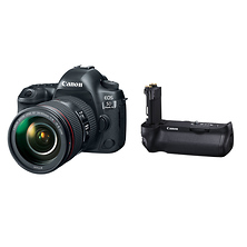 EOS 5D Mark IV Digital SLR Camera with 24-105mm Lens and BG-E20 Battery Grip Image 0