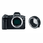 EOS R Mirrorless Digital Camera Body with Mount Adapter EF-EOS R