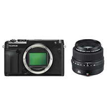 GFX 50R Medium Format Mirrorless Camera with GF 63mm f/2.8 R WR Lens Image 0
