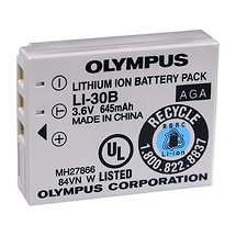 Olympus LI-30B Rechargeable Lithium-Ion Battery for Olympus Stylus Verve Cameras